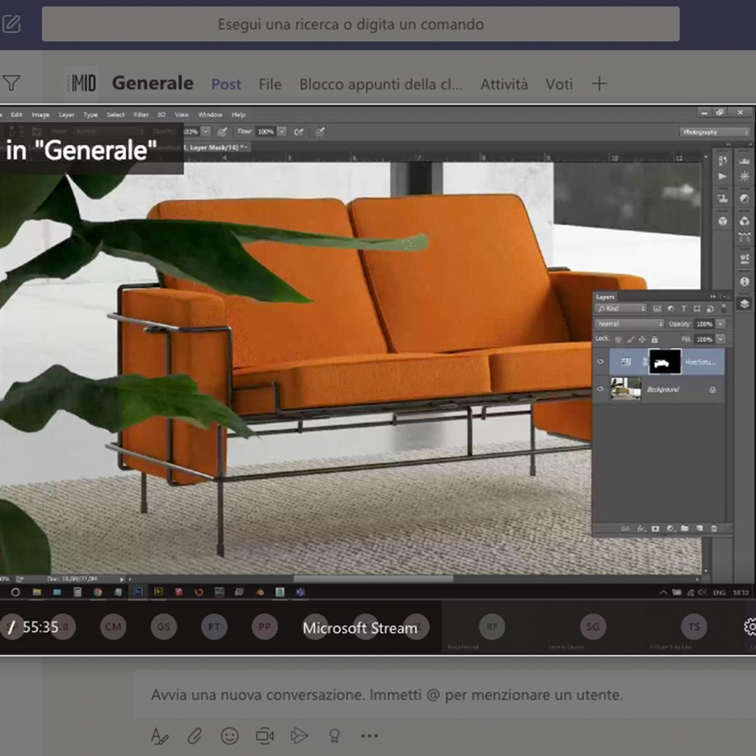 iuav_master_interactive_media_for_interior_design_microsoft_teams_rendering_divano_traffic_Magis.jpg